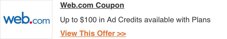 Web.com Coupon