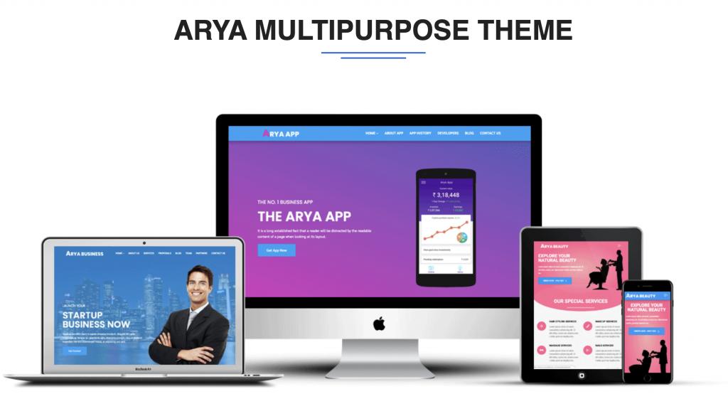 Arya Multipurpose Theme