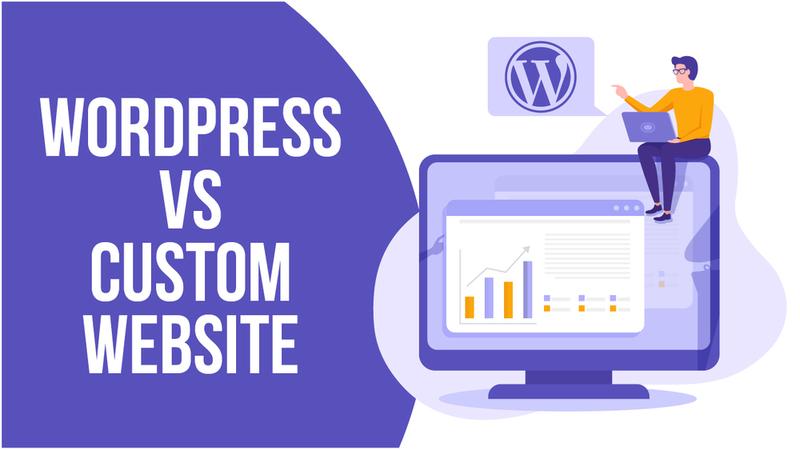 WordPress vs Custom Website Comparison