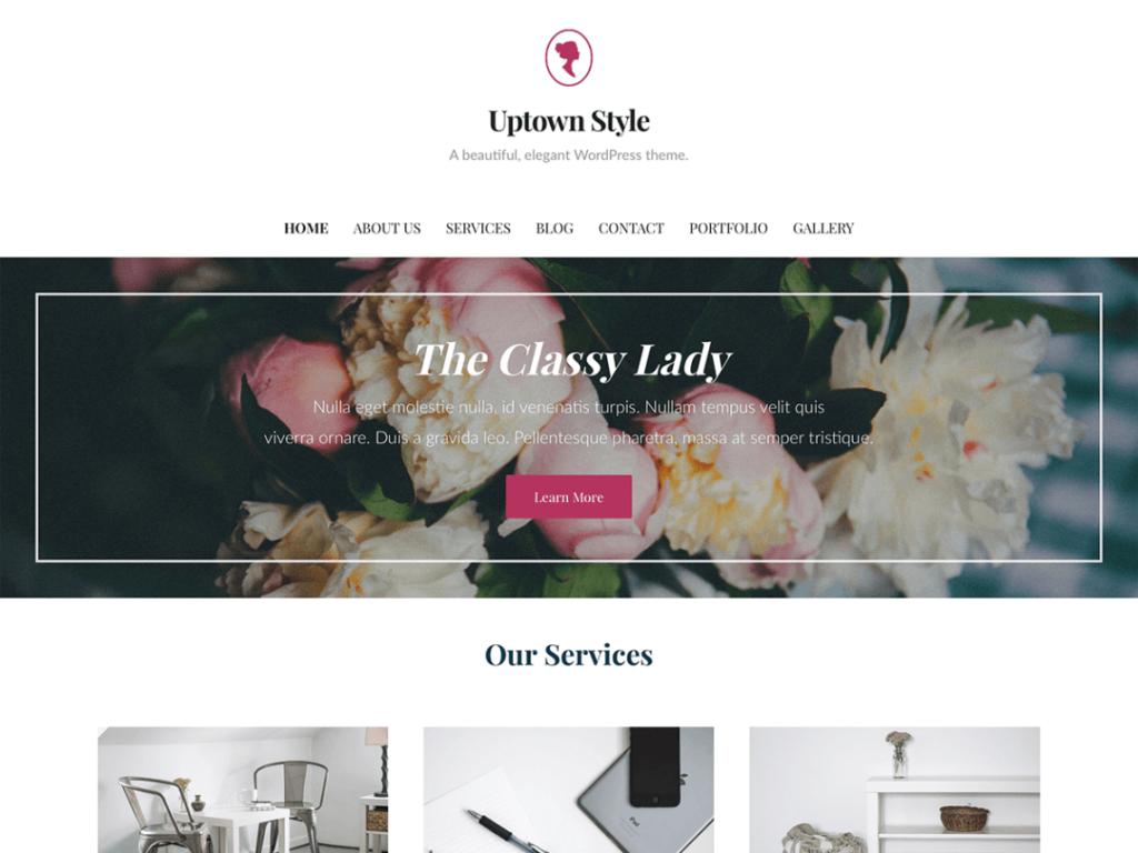uptown style wordpress theme 2020