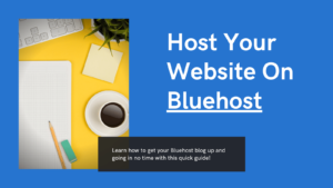 how to host a wordpress website on bluehost featured image