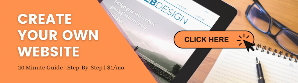 create your own website banner