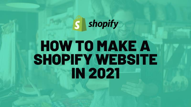 Shopify website 2021